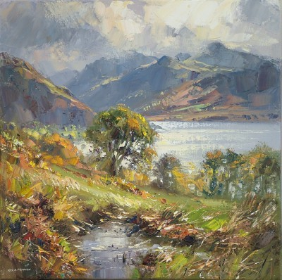 Rex PRESTON - October Morning, Crummock Water