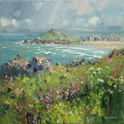 Rex PRESTON - Porthmeor Beach, St. Ives