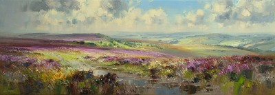 Rex PRESTON - Sunshine and Cloud Shadows, White Edge Moor