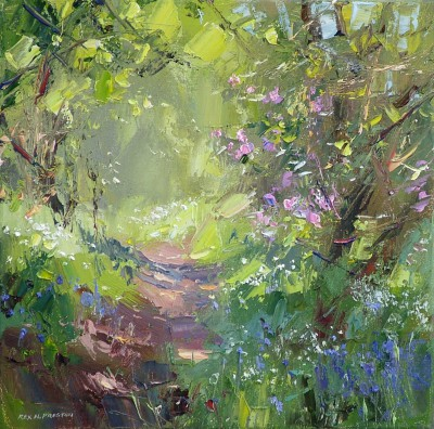 Rex PRESTON - Spring Flowers, Bramley Wood