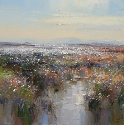 Rex PRESTON - Cotton Grass, White Path Moss, Hallam Moors
