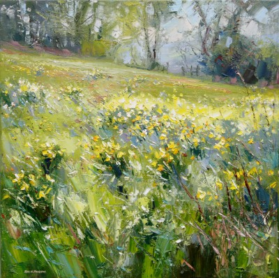 Rex PRESTON - Daffodils at the Old Nurseries