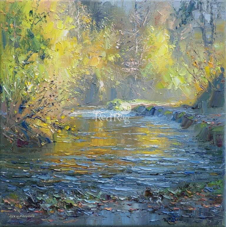 Rex PRESTON - Autumn Golds, Beresford Dale