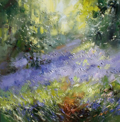 Rex PRESTON - Bluebells, Shining Cliff Woods