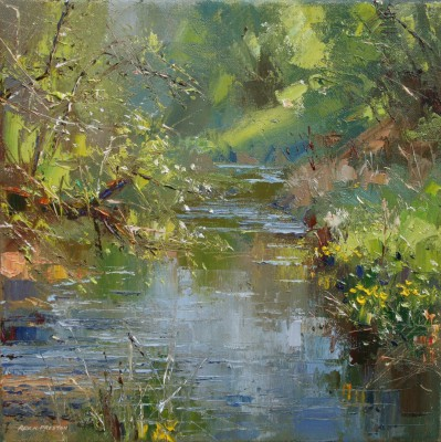 Rex PRESTON - Spring Day, Monk's Dale, Derbyshire