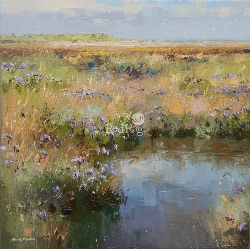 Rex PRESTON - Sea Lavender, Thornham Coast, Norfolk