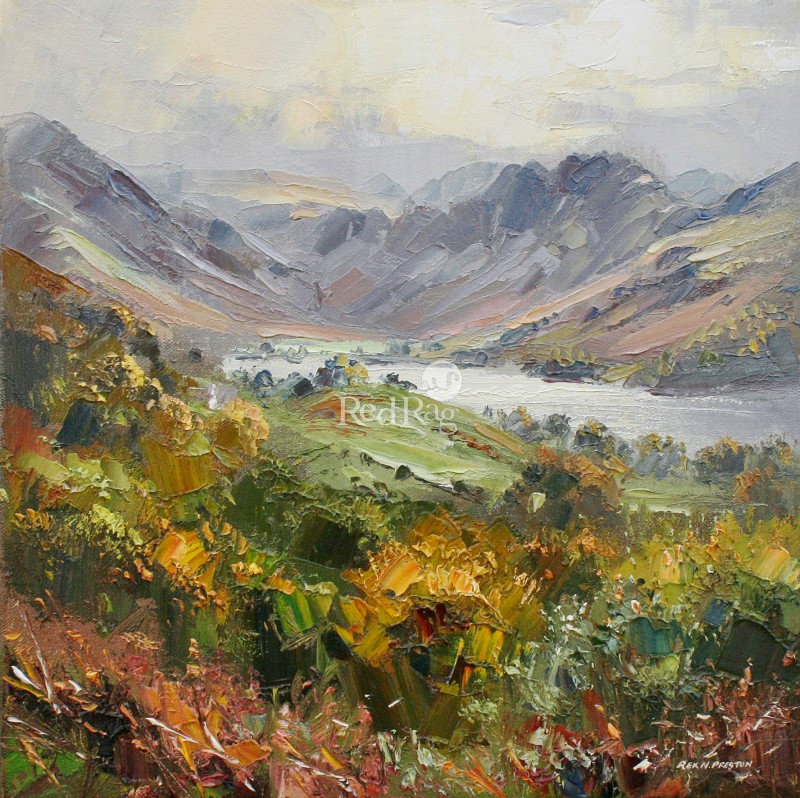 Rex PRESTON - October Colours, Buttermere