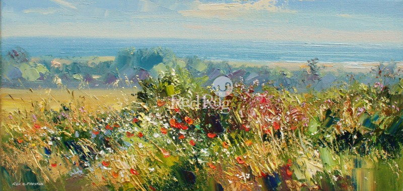 Rex PRESTON - Summer Flowers, Norfolk