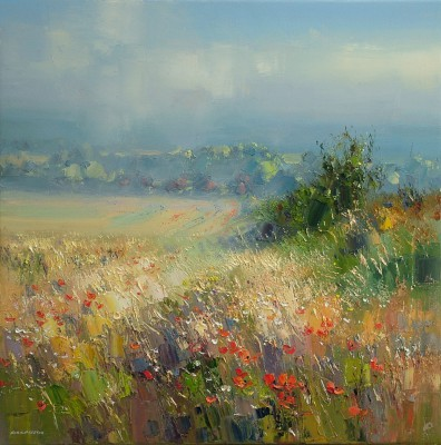 Rex PRESTON - Early Morning Mist, Norfolk Coast