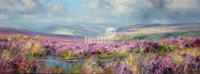 Rex PRESTON - September Sunlight, Beeley Moor