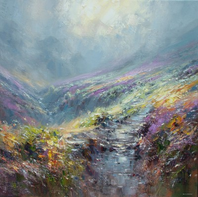 Rex PRESTON - Footpath to Kinder