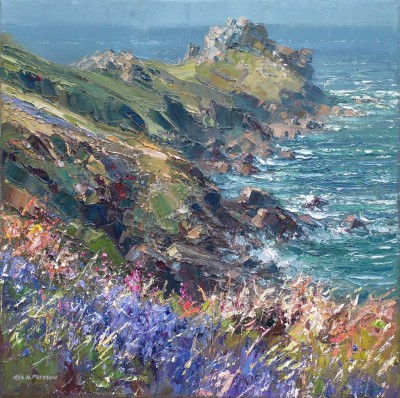 Rex PRESTON - Bluebells, Gurnard's Head