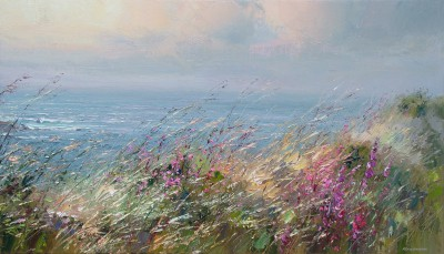 British Artist Rex PRESTON - Cornish Breeze