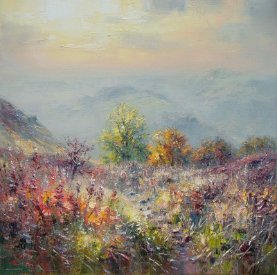 Rex PRESTON - Late November Afternoon, Curbar Gap