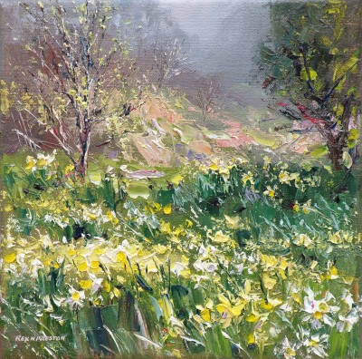 Rex PRESTON - Lake District Daffodils