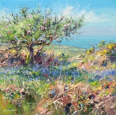 Rex PRESTON - Apple Blossom, Cornwall