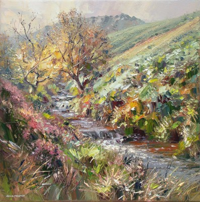 Early Autumn, Fairbrook painting by artist Rex PRESTON