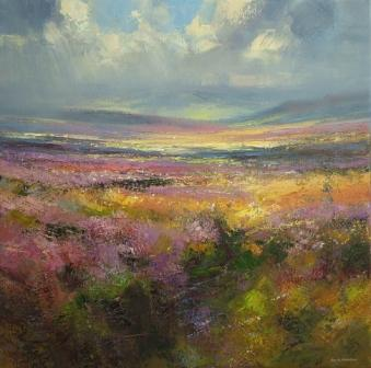 Rex PRESTON - Sunlight on Beeley Moor