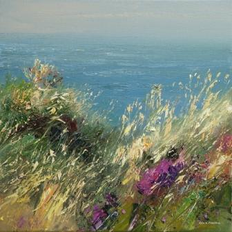 Rex PRESTON - Summer Breeze, Zennor Head, Cornwall