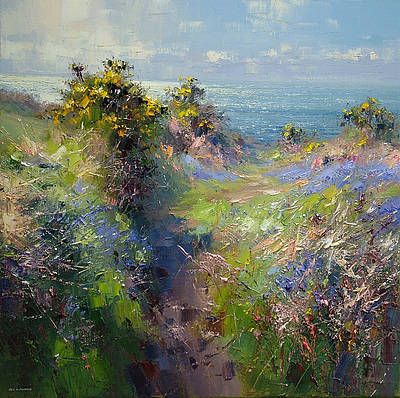 British Artist Rex PRESTON - Atlantic Light