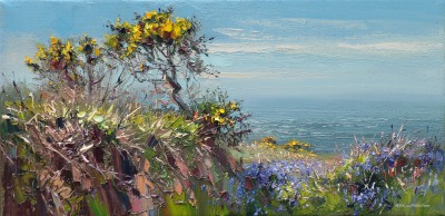 Rex PRESTON - Cornish Gorse and Bluebells