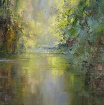 Rex PRESTON - Reflections, Chee Dale, Derbyshire
