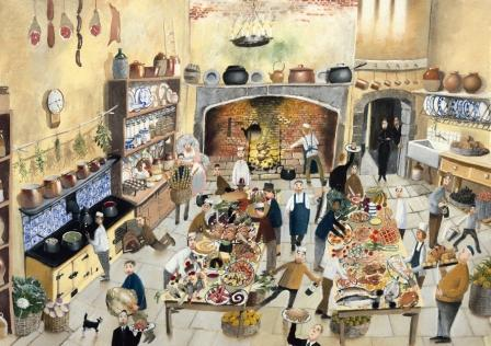 British Artist Richard Adams - His Lordships Supper
