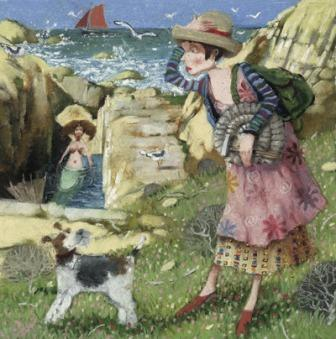 Limited Edition Prints Artist Richard Adams - On The Rocks