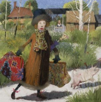 British Artist Richard Adams - Weekend Visitor