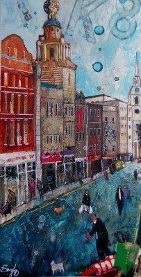 British Artist Richard BUREL - Coliseum Theatre