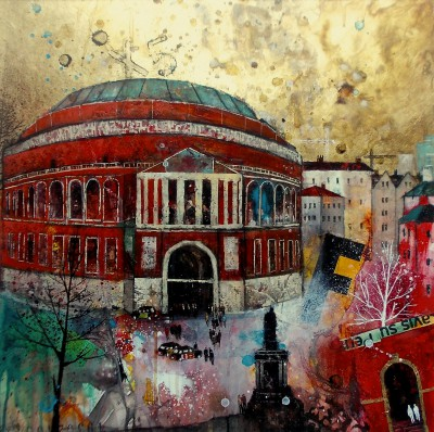 British Artist Richard BUREL - Royal Albert Hall