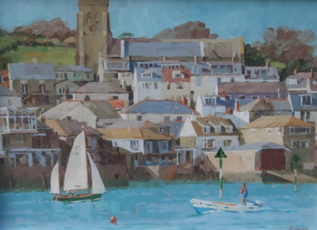 British Artist Richard DACK - Salcombe
