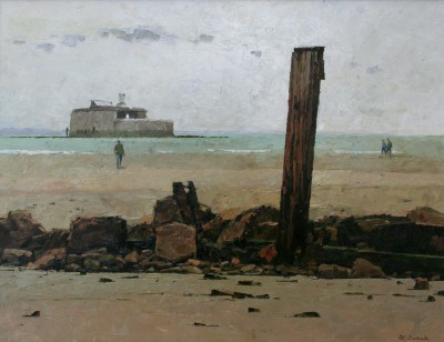 Richard DACK - Sea Defences at Bembridge