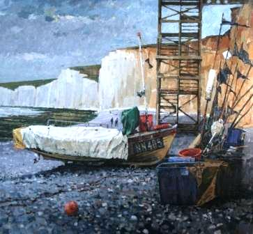 British Artist Richard DACK - Birling Gap