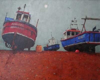 British Artist Richard DACK - Dungeness: Evening