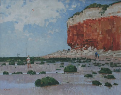 Hunstanton painting by artist Richard DACK