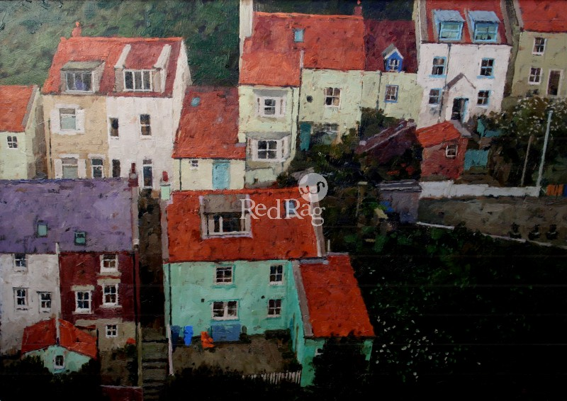 Richard DACK - Overlooking Staithes