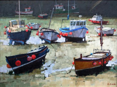 British Artist Richard DACK - Porthleven