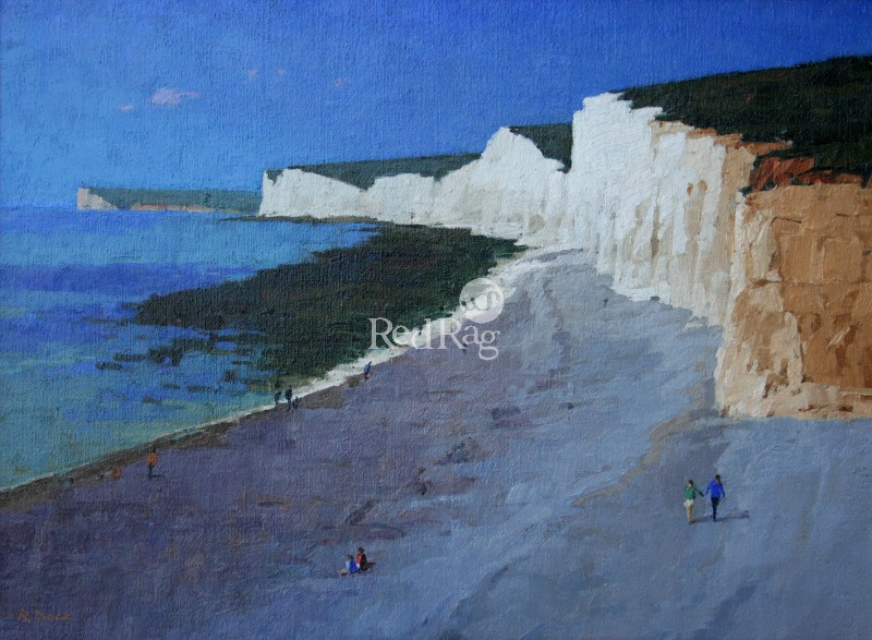 Richard DACK - The Seven Sisters from Birling Gap