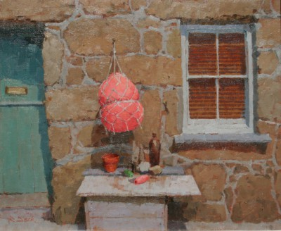 British Artist Richard DACK - Still Life at Penberth
