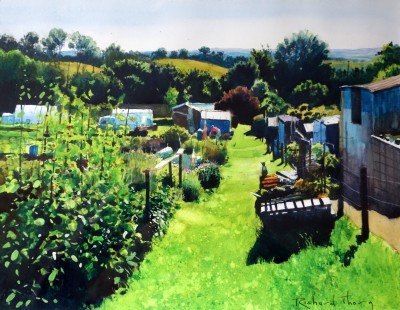 Richard THORN - Morning in the Allotment