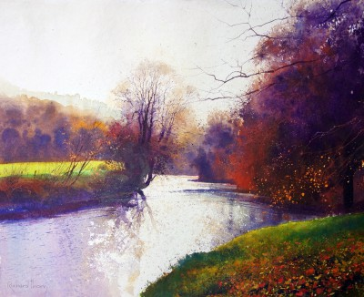 British Artist Richard THORN - Turners' River
