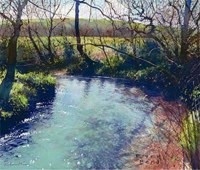 Limited Edition Prints Artist Richard Thorn - River Bend