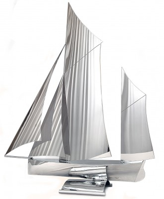 'Gaff Ketch' sculpture