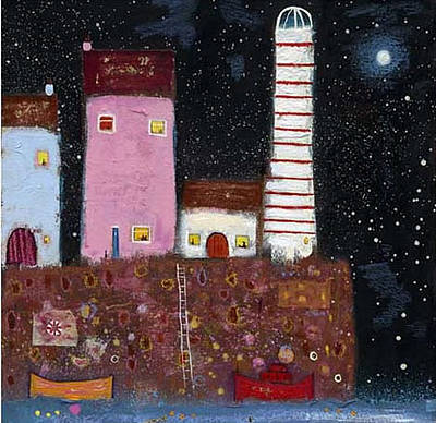 British Artist Ritchie Collins - The Lighthouse
