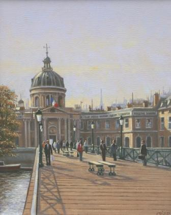 Robert CRISP - Pont des Arts Paris