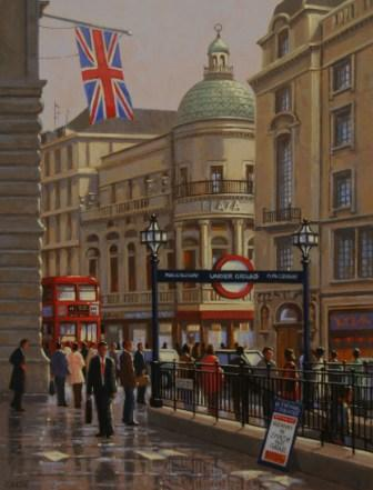 British Artist Robert CRISP - Afternoon Light, London