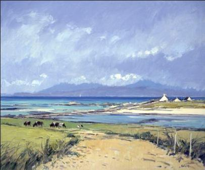 Robert Kelsey - Over to Skye from Arisaig