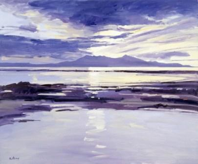 Robert Kelsey - Sunset Over Arran