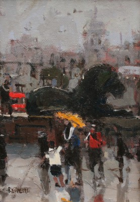 Robert E WELLS - Trafalgar Square